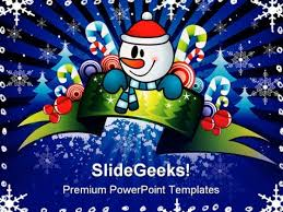 christmas powerpoint template christmas powerpoint templates