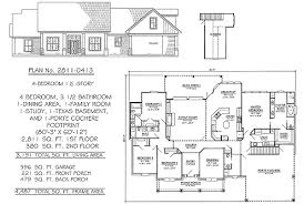 4 bedroom 1 story 2301 2900 square feet