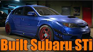 widebody subaru impreza need for speed 2015 almost 800 hp widebody subaru sti youtube