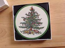 spode tree coasters by pimpernel set of 6 ebay