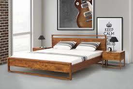 King Size Bed Frame For Sale Ebay Wooden Bed Frame Super King Size With Slatted Frame 180x200 Cm