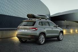 the skoda karoq is a completely new compact suv from the long