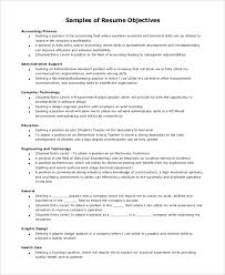 functional resume objective good resume objectives examples