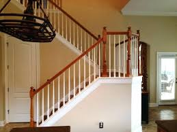 interior railings home depot indoor stair railing top stair railing ideas wood stair railing