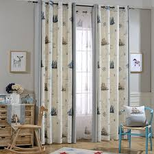 Beige And Gray Curtains Beige And Gray Anchor Nautical Curtains For Childrens Room