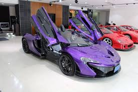 mclaren p1 purple meet the most exotic supercar dealership in japan gtspirit