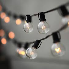 Outdoor Patio Lighting by Outdoor Patio String Lights 25ft Online Patio Store