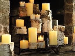 fireplace candle ideas nice looking 20 decorating unique and