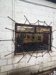 spider web security grill spider webs metals and window grill