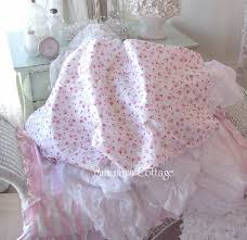king sheet set shabby french pink wine roses chic cotton romantic