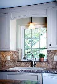 Valance For Kitchen Window Kitchen Window Cabinet Valance Our Custom Shop Made This Window