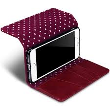 iphone 8 plus iphone 7 plus polka dot wallet case