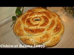 basma cuisine chhiwat basma 087 خبز محشي على شكل وردة بمذاق مميز وشهي