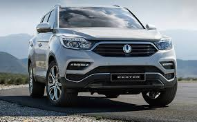 news ssangyong reveals all new rexton in seoul