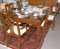 drexel heritage dining table drexel heritage dining table and 6 chairs chair designs and ideas