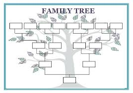 6 best images of family tree template editable blank family tree