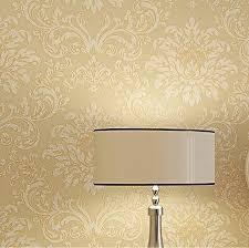 glitter wallpaper manufacturers europe modern textured glitter damask wallpaper yellow beige golden