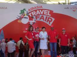 airasia travel fair promo tiket pesawat 50 persen di airasia travel fair