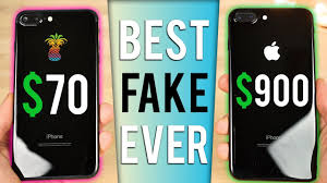 70 fake iphone 7 plus vs 900 iphone 7 plus in jet black youtube