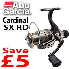 cardinal sx abu garcia cardinal sx rear drag spinning reels save 5