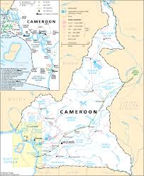 map of cameroon map of cameroon electricity grid cameroon national energy