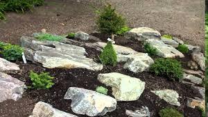 Wall Garden Ideas by Building A Rock Garden Concrete Raised Bed Wall Garden Raised Rock