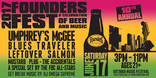 founders fest 2017 a celebration of beer and music u2013 tickets
