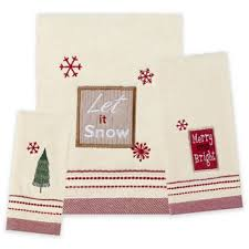 Christmas Towels Bathroom Buy Christmas Bathroom Towels From Bed Bath U0026 Beyond