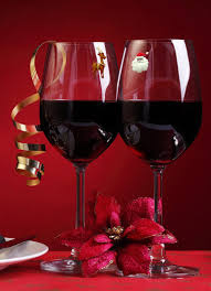 christmas magnetic wine simply charmed