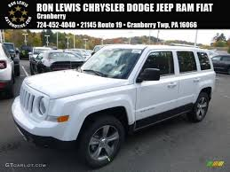 2017 jeep patriot 2017 bright white jeep patriot latitude 4x4 116486850 gtcarlot
