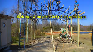 armour metals steel truss pole barn kit diy youtube
