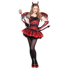 Puritan Halloween Costume Girls U0027 Devil Costumes Ebay