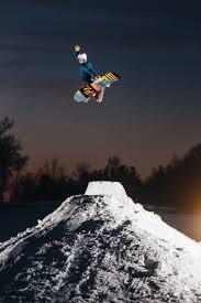 backyard snowboarding u2014 mackenzie hennessey photo video