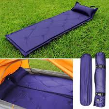 self inflatable inflating air mattress sleeping pad outdoor bed