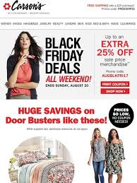 carsons black friday sale carson u0027s black friday doorbusters start now free shipping w 25