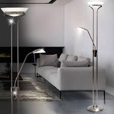 Wohnzimmer Lampe Dimmen Deckenfluter Mit Flexibler Leselampe Und Dimmer Lampen U0026 Möbel