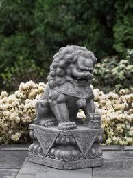 asian inspired garden statuary