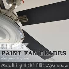 how to paint fan blades like a pro a tour of our diy house u0027s