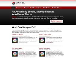 synapse wordpress theme by simple themes