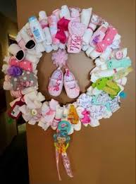baby shower wreath create your own baby shower gift learn how to make a