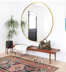 home interior mirror circular style the top 5 round mirrors styleophileuk