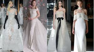 wedding dress trend 2018 2018 wedding dress trends ideas for your big day