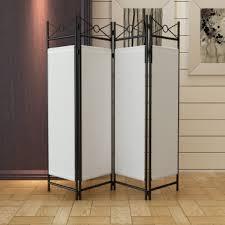 separateur de chambre paravent 4 pans cloison pliable séparateur de pièce 160 x 180cm en