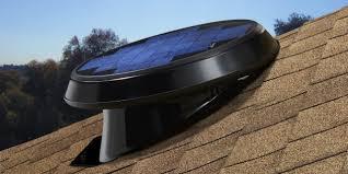 natural light solar attic fans u2014 arrowseal