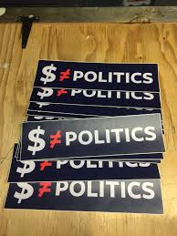 i m giving away free justice democrats bumper stickers come in here are some previous bumpers stickers i made by sticker mule and i am quite pleased with how they came out if you want any i have some extras laying