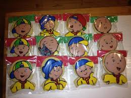 caillou party supplies caillou party favors cookie connection