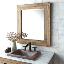 framed bathroom mirrors diy wood framed bathroom mirrors bathroom mirror white frame large