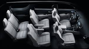 dodge durango 3rd row seat list of 3rd row suvs with 2nd row captains chairs