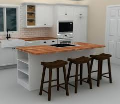 Kitchen Triangle With Island Triangle Kitchen Island With Seating L Shaped Rustic Kitchen With