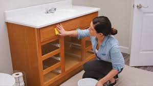 what paint is best for bathroom cabinets how to paint bathroom vanity cabinets sherwin williams
